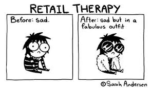 Retail therapy is better than paying bills... right? : TrollCoping
